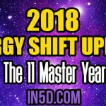 Energy Shift Update 2018 = The 11 Master Year by Tiffany Stiles