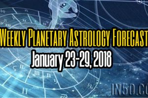 Weekly Planetary Astrology Forecast January 23-29, 2018