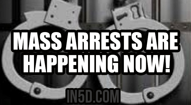 Mass Arrests Are Happening NOW!