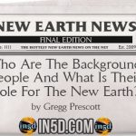 New Earth News – Who Are The Background People And What Is Their Role For The New Earth?