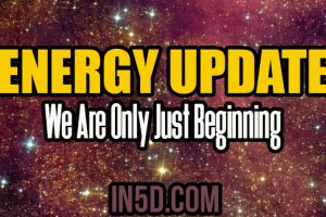 Energy Update – We Are Only Just Beginning