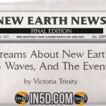 New Earth News- Dreams About New Earth, 3 Waves, And The Event
