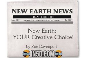 New Earth News – New Earth – YOUR Creative Choice!