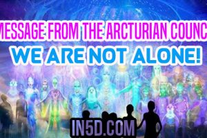 Message From The Arcturian Council – We Are Not Alone!