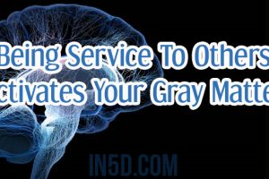 Being Service to Others Activates Your Gray Matter