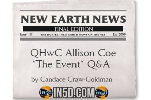 "QHwC Allison Coe ""The Event"" Q&A"