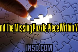 Find The Missing Puzzle Piece Within You
