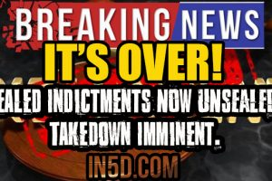 David Seaman: Sealed Indictments NOW UNSEALED, Takedown Imminent. It's OVER!
