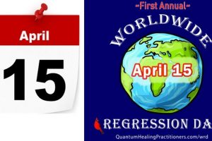 April 15, 2018 – World Regression Day!