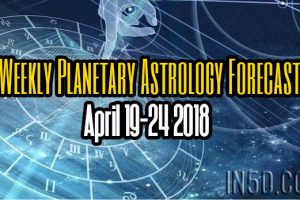 Weekly Planetary Astrology Forecast April 19-24 2018