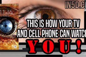 This Is How Your TV And Cell Phone Can Watch YOU!