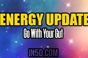 Energy Update – Go With Your Gut