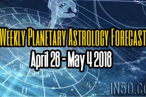 Weekly Planetary Astrology Forecast April 28 – May 4 2018