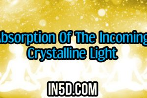 Absorption Of The Incoming Crystalline Light