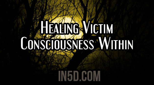 Healing Victim Consciousness Within
