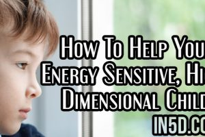 How To Help Your Energy Sensitive, High Dimensional Child