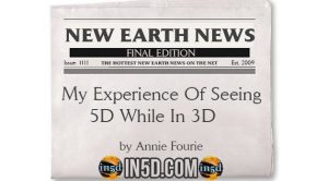 My Experience Of Seeing 5D While In 3D