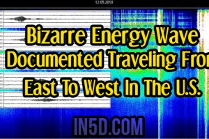 Energy Update: Bizarre 92+ MPH Energy Wave Documented Traveling From East To West In The U.S.