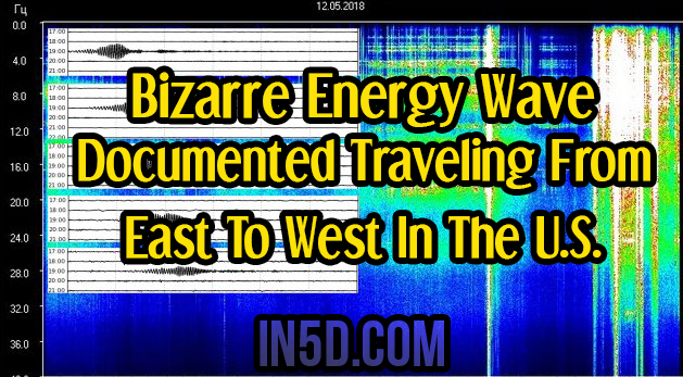 Bizarre Energy Wave Documented Traveling From East To West In The U.S.
