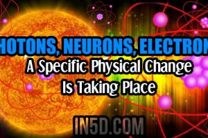 Photons, Neurons, Electrons – A Specific Physical Change Is Taking Place