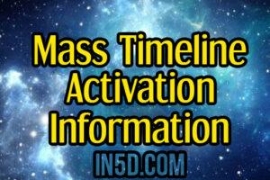Mass Timeline Activation Information