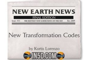 New Earth News: New Transformation Codes, Emotional/Physical Purging