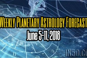 Weekly Planetary Astrology Forecast June 5-11, 2018