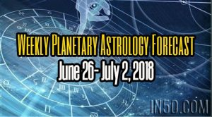 Weekly Planetary Astrology Forecast