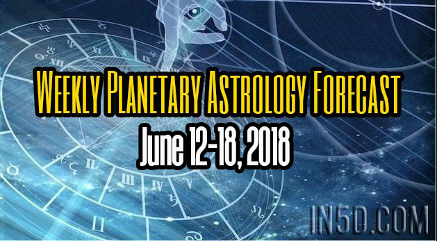 Weekly Planetary Astrology Forecast June 12-18, 2018