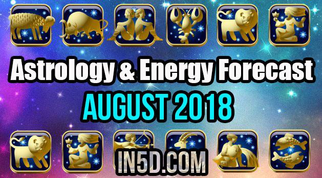 Astrology & Energy Forecast August 2018