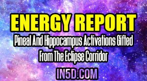 Energy Report - Pineal And Hippocampus Activations Gifted From The Eclipse Corridor