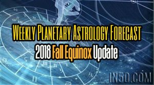 2018 Fall Equinox Update