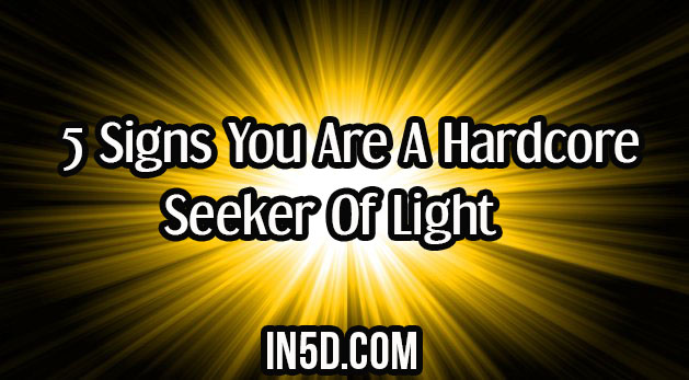 5 Signs You Are A Hardcore Seeker Of Light