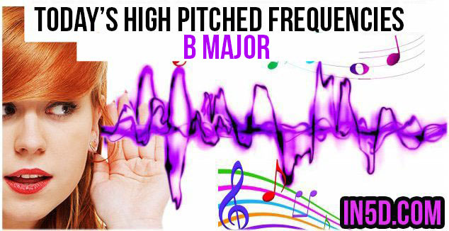 NOV. 26, 2018 HIGH PITCHED FREQUENCY KEY B MAJOR