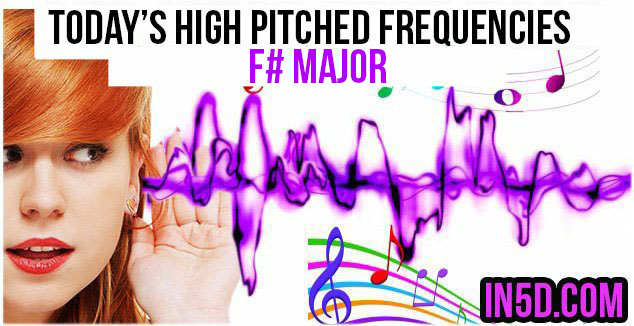 NOV. 23, 2018 HIGH PITCHED FREQUENCY KEY F# Major