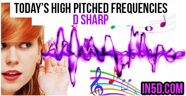 NOV. 28, 2018 HIGH PITCHED FREQUENCY KEY D SHARP