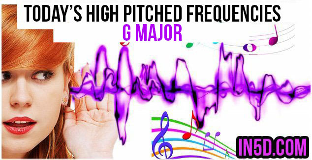 DEC. 11, 2018 HIGH PITCHED FREQUENCY KEY G MAJOR – THROAT CHAKRA