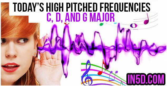 Nov. 19, 2018 HIGH PITCHED FREQUENCY KEYS C, D, AND G