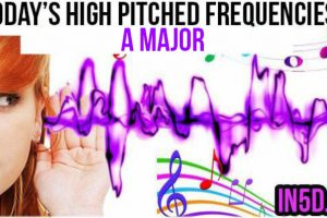 DEC 6, 2018 HIGH PITCHED FREQUENCY KEY A MAJOR – 3RD EYE CHAKRA