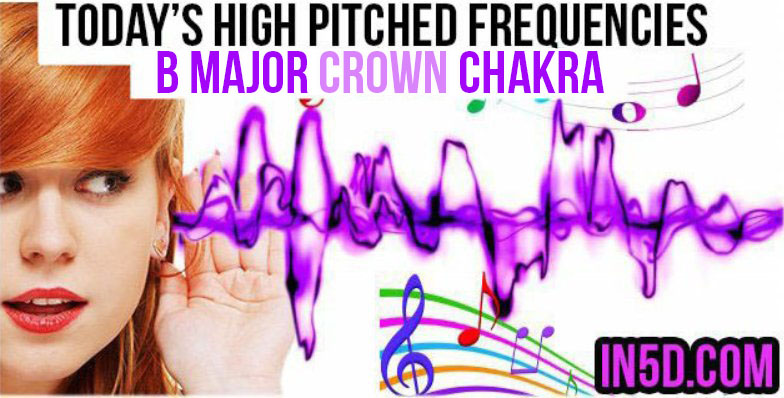 DEC 15, 2018 HIGH PITCHED FREQUENCY KEY B MAJOR CROWN CHAKRA
