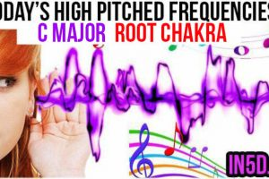 SEPT. 6, 2019 HIGH PITCHED FREQUENCY KEY C MAJOR – ROOT CHAKRA