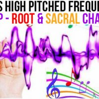 MAY 26, 2019 HIGH PITCHED FREQUENCY KEY C#- ROOT & SACRAL CHAKRAS