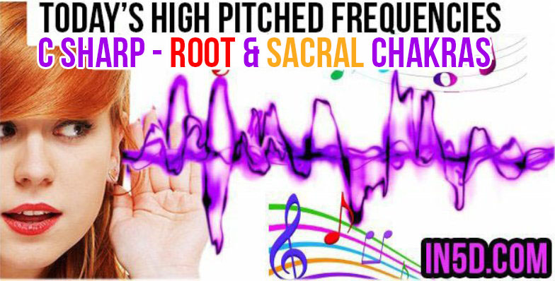 DEC 10, 2018 HIGH PITCHED FREQUENCY KEY C#- ROOT & SACRAL CHAKRAS