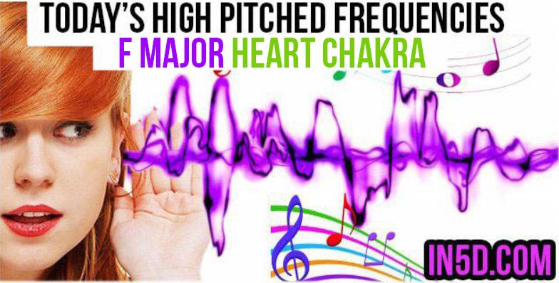 F major heart chakra