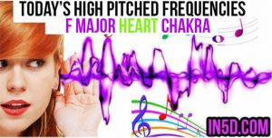 DEC 13, 2018 HIGH PITCHED FREQUENCY KEY F MAJOR HEART CHAKRA