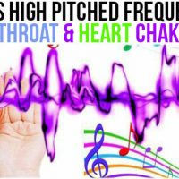APR 19, 2019 HIGH PITCHED FREQUENCY KEY F# – HEART & THROAT CHAKRAS