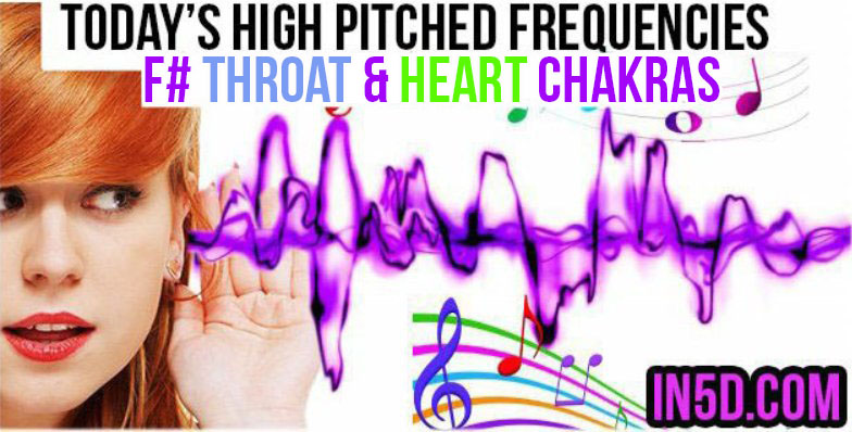SEPT  11, 2019 HIGH PITCHED FREQUENCY KEY F# - HEART