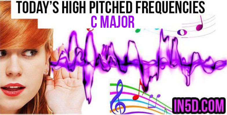 DEC 5, 2018 HIGH PITCHED FREQUENCY KEY C MAJOR