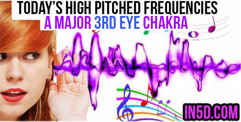 HIGH PITCHED FREQUENCY KEY A MAJOR - 3RD EYE CHAKRA