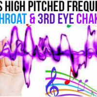 JUNE 24, 2019 HIGH PITCHED FREQUENCY KEY G# THROAT & 3RD EYE CHAKRAS